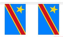 CONGO DR 2006 BUNTING - 9 METRES 30 FLAGS